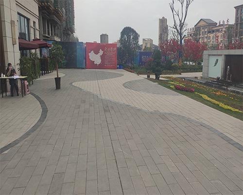 南溪金叶公园pc砖工程